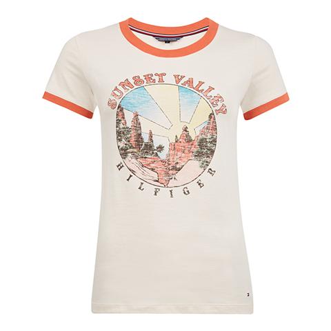 /retro-print-cotton-t-shirt-ww0ww22333609