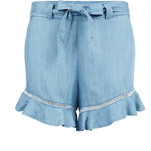 /high-waisted-flare-hem-shorts-ww0ww22290911